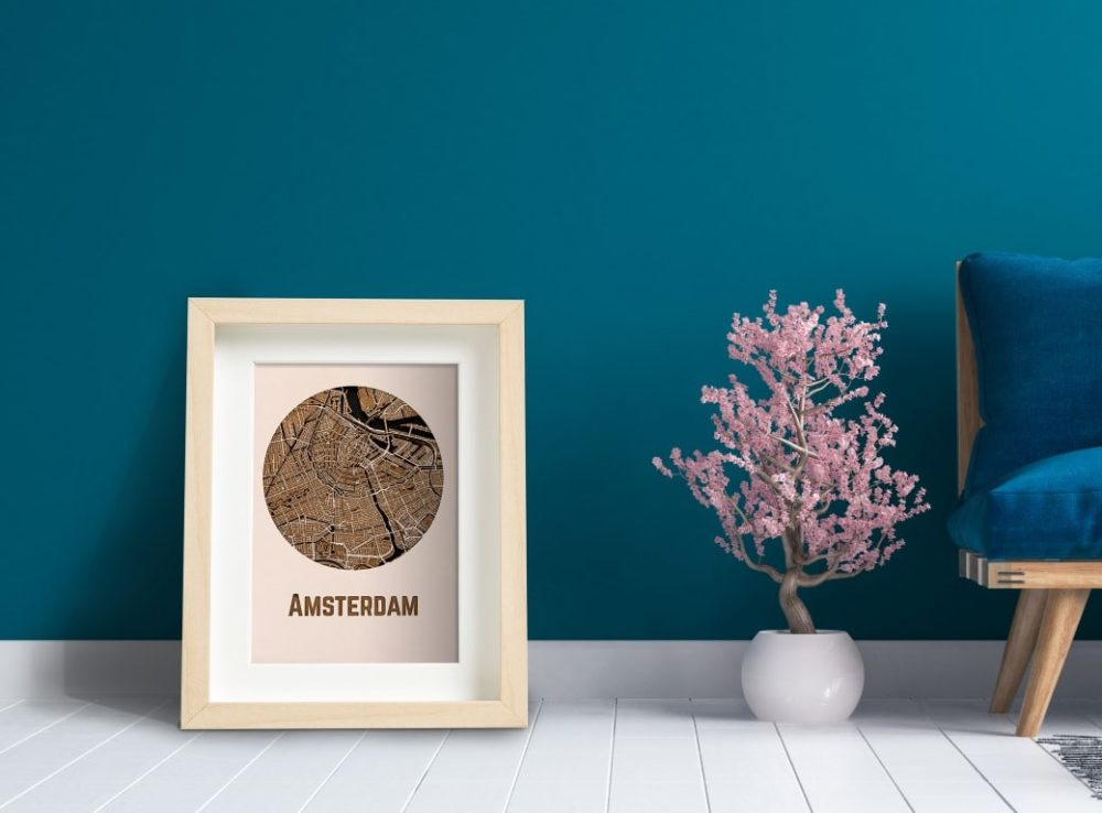 WoodyMaps • Your City In Wood