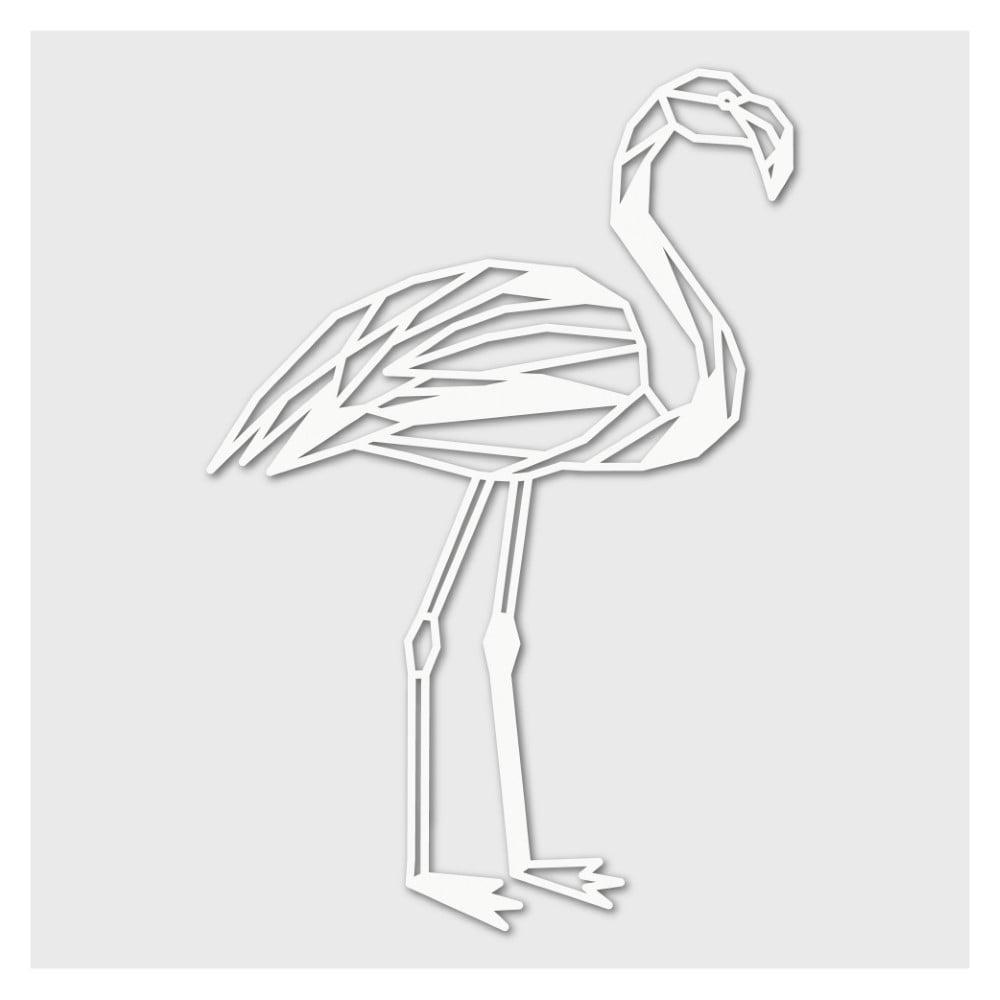 Houten Flamingo