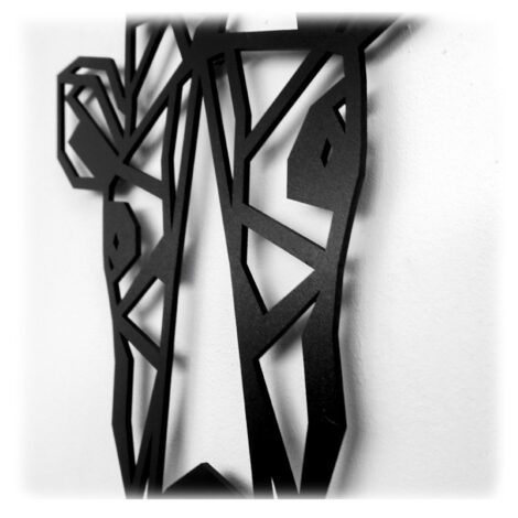 Houten Giraffe wanddecoratie - Luxigo - Lasergesnden producten