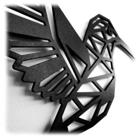 Houten Kolibire wanddecoratie - Luxigo - Lasergesnden producten
