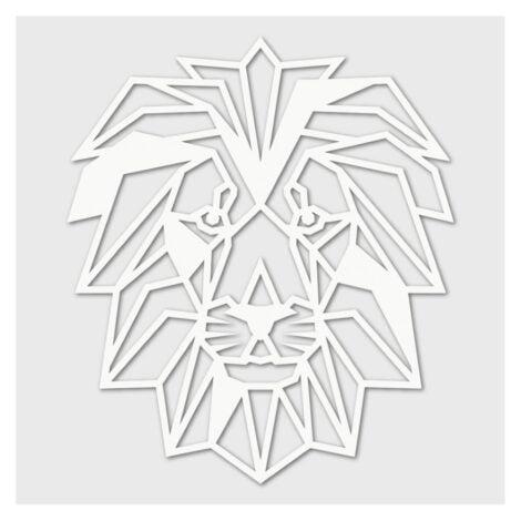 Houten Leeuw wanddecoratie - Luxigo - Lasergesnden producten