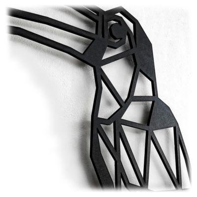 Houten Toekan wanddecoratie - Luxigo - Lasergesnden producten