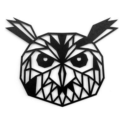 Houten uil wanddecoratie - Luxigo - Lasergesnden producten