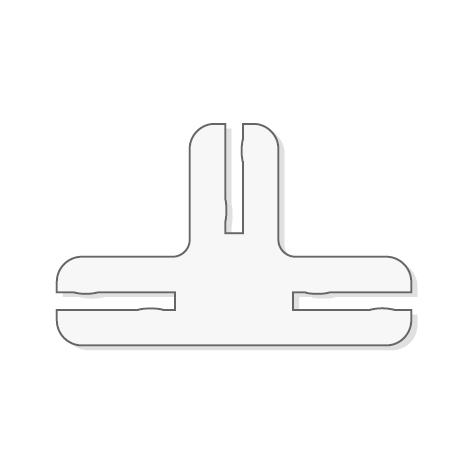 Beschermplaat Koppelstuk 90 graden T-Stuk (3 stuks)