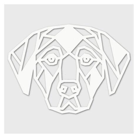 Houten Hond wanddecoratie - Luxigo - Lasergesnden producten