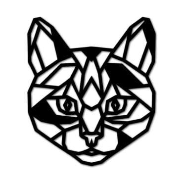 Houten Kat wanddecoratie - Luxigo - Lasergesnden producten