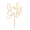 Baby Girl - Caketopper Hout Wood
