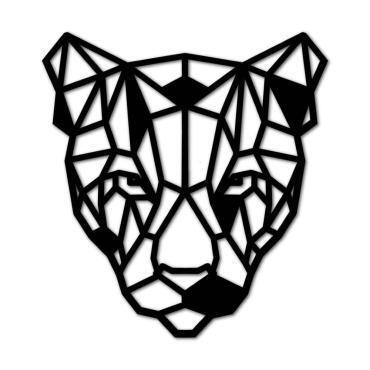 Luxigo - Luipaard - Houten Dierenkop